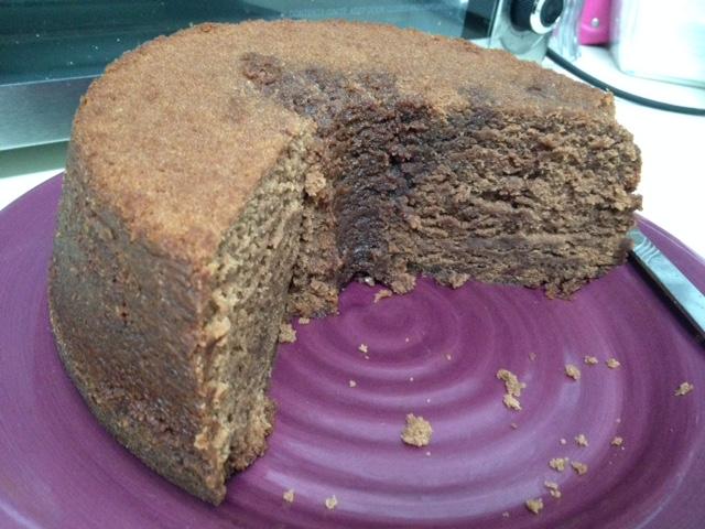 Choc syrup pound cake 4