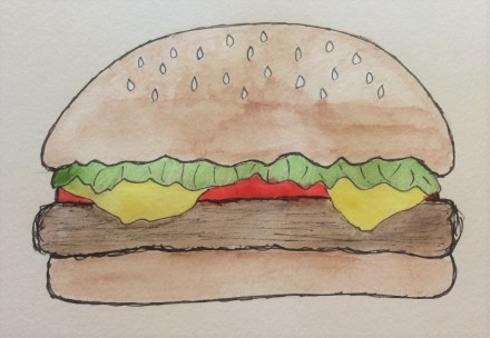 Burger Illustration 2