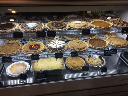 Baked Pie counter