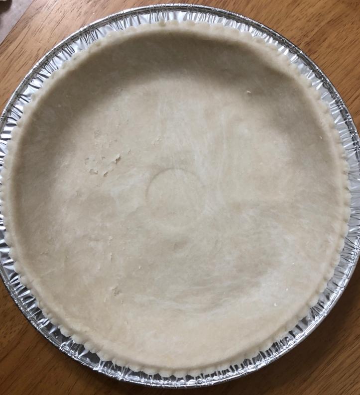 Pie Crust with Shortening