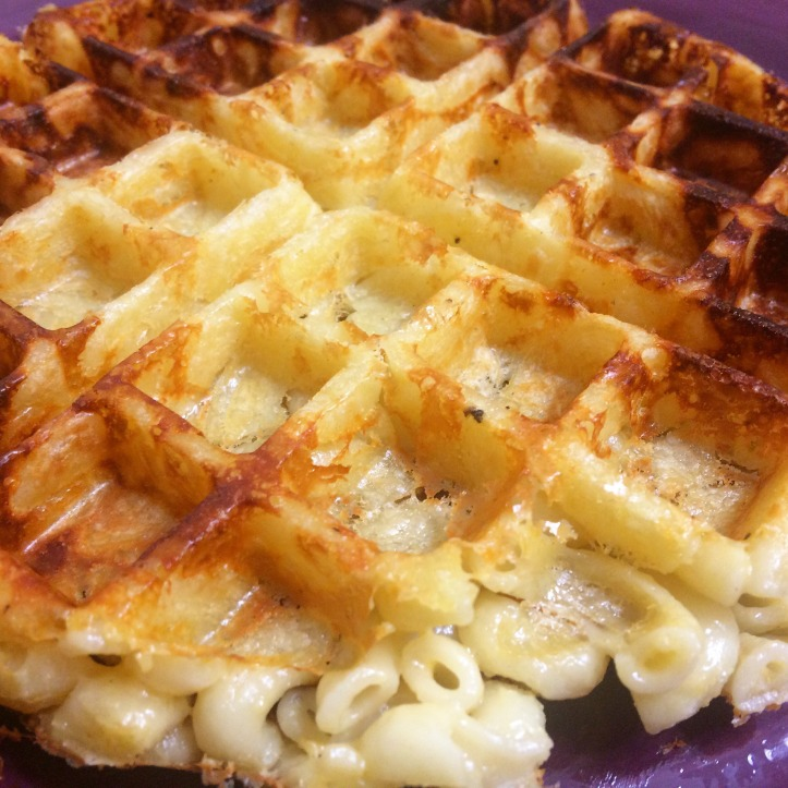 Mac & Cheese Waffles