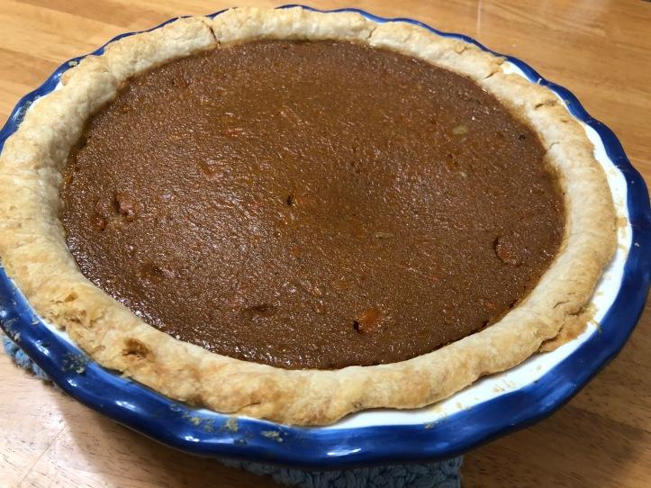 Buttternut Squash Pie