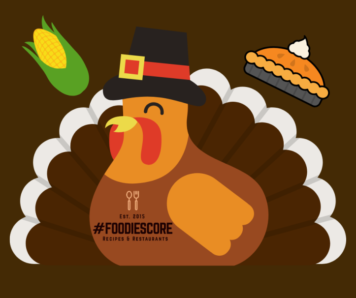 Thanksgiving #FoodieScore graphic